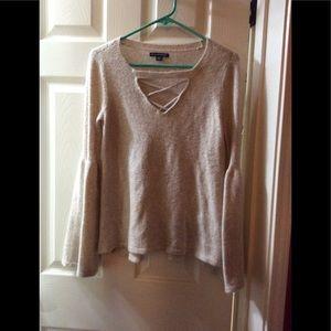 American Eagle sweater fuzzy sweater (57)